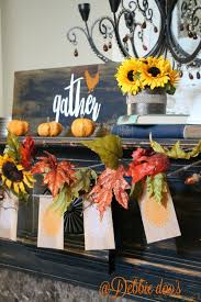 Rustic Fall Decor Friends And Family Gather Here For Fall Debbiedoos