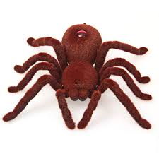 brand high quality 2ch infrared rc realistic spider prank remote