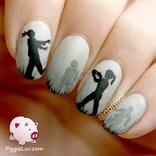 spoiled and rotten nail art design tutorial halloween nails diy