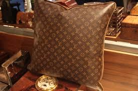 large sofa pillows large louis vuitton throw pillows for sale at 1stdibs