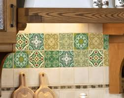 Moroccan Tile Bathroom Tile Wall Decal Kitchen Bathroom Moroccan Tile By Bleucoin