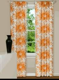 Modern Floral Curtain Panels Modern Floral Curtain Panels Drapes Spa Blue Yellow Grey