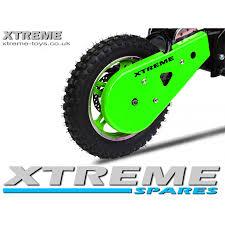 motocross bike parts uk mini nitro 800w dirt bike plastic chain guard cover in green