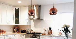copper decorations 70 majestic copper and rose gold kitchen themes decorations decomg