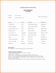 free resume templates for docs resume templates inspirational acting resume template