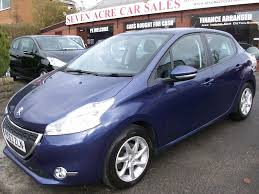 peugeot hatchback cars used peugeot 208 hatchback 1 0 vti active 5dr in blackburn