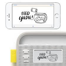 amazon com invoxia smart portable speaker with amazon alexa grey