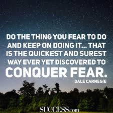 Fear Clinic 19 Quotes About Facing Your Fears Success