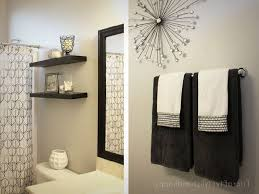 Ideas For Bathroom Wall Decor Bathroom Ideas For Dramatic With Wall Decor Regarding Bathroom
