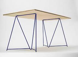 tables better living through design diamond stackable table trestles desk work better living