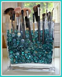 diy make up brush holder so easy just fill a dollar