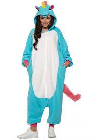 blue jumpsuit costume blue unicorn jumpsuit costume purecostumes com