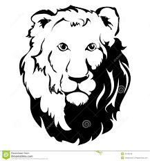 lion head tribal tattoo stock illustrations u2013 666 lion head tribal