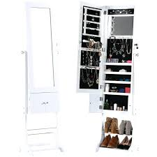 full length mirror with led lights standing mirror jewelry cabinet free standing lockable jewelry