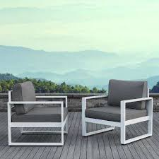 White Aluminum Patio Furniture by Real Flame Patio Conversation Sets Outdoor Lounge Furniture