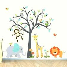 Jungle Nursery Wall Decor Safari Wall Decor Nursery Decor Safari Wall Jungle Bedroom