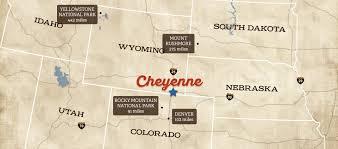 Cheyenne Map Dining In Cheyenne