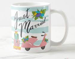 newlywed gift just married gift etsy