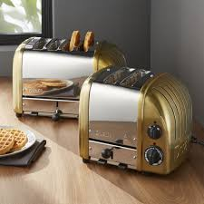 Dualit Orange Toaster Toasters And Toaster Ovens Crate And Barrel