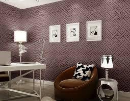 contemporary modern geometric wallpaper leather neutral greek key