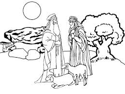 abraham and sarah shepherd coloring pages batch coloring