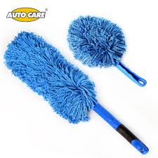 Interior Windshield Cleaning Tool Aliexpress Com Buy Microfiber Car Duster Kit 2pcs Long Handle