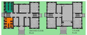Ground Floor Plan First And Ground Floor Plan Of The Historic Block Of Ulugazi