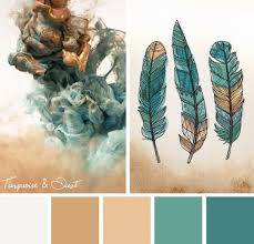 nature inspired color palettes shades of teal color blue and teal