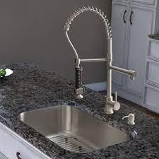 pull spray kitchen faucet vigo vg02007st pull spray kitchen faucet review