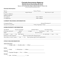 Insurance Quote Sheet Template Homeowners Insurance Quote Forms 44billionlater
