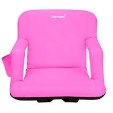 Stadium Chairs With Backs Driftsun Stadium Seat Reclining Bleacher Chair Folding With Back