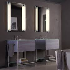 Lighted Bathroom Cabinet Bathroom Interesting Wall Mount Lighted Mirorred Robern Medicine