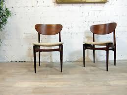 schreibtischstuhl design 60er 70er teak holz stuhl design klassiker