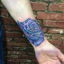 25 parasta ideaa pinterestissä purple rose tattoos