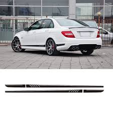 are mercedes c class reliable aliexpress com buy amg edition c63 507 side stripe decals