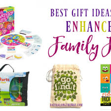 family gift ideas to promote and unity
