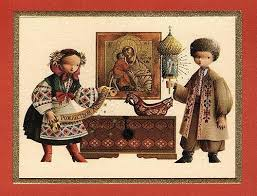 russian xix around the world card series designed for