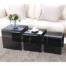 Pictures Of Coffee Tables In Living Rooms Side Tables Side Table Set Of 3 Glass Coffee Table Set Of 3 End