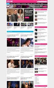 star magazine wordpress template starz wordpress themes
