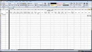 I Need A Spreadsheet Template Free Ebay Spreadsheet Template Using Excel Youtube