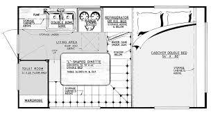 Small Rv Floor Plans Camper Plans Acapulco 8 U0027 Truck Camper Design