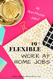 Graphic Design Works At Home Flexible Work At Home Jobs Non Phone Remote Jobs Todays Work