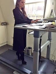 Standing Treadmill Desk by Photo Victoria Beckham Wears High Heels On Treadmill Desk