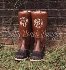 womens boots mid calf brown monogram duck boots mid calf boots boots monogram
