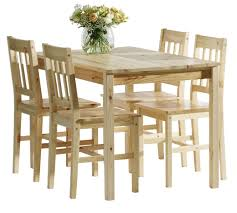 jysk furniture dining table w 4 chairs lacquered pine house