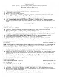 Sample Resume Accounting No Work Experience Cover Letter Resume Samples Accountant Curriculum Vitae Resume