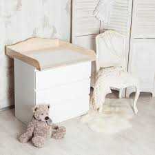 natural wood changing table new natural wood changing unit table top cot top for ikea