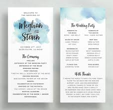 wedding program dimensions programs dunkirkdesigns