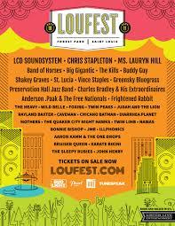 loufest 2016 lineup lcd soundsystem chris stapleton lauryn hill