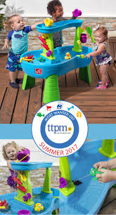 step 2 rain showers splash pond water table best summer outdoor toy step2 rain showers splash pond water table